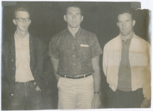 Tim Sommer, Lloyd Fourroux and John Hogg