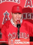 Bob is a big fan of Angels Outfielder Josh Hamilton