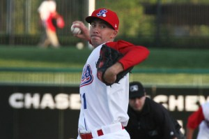 Tanner Peters was named the Ports top pitcher following the 2013 season.