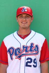 Jimmy Escalante, pitching coach for the 2013 Ports