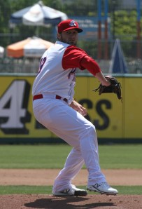 Shaeffer Hall joined the Ports from the Yankees organization during the season
